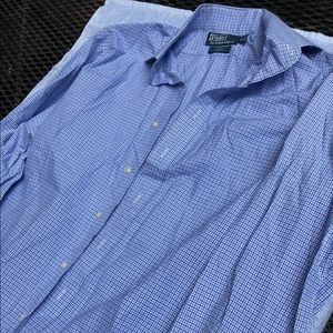 Polo by Ralph Lauren Regent Classic Fit Blue LS